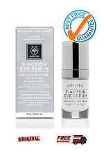 Apivita 5-Action Eye Serum *WHITE LILLY* 15ml Intensive eye care