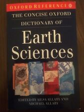 The Consise Oxford Dictionary Of Earth Sciences