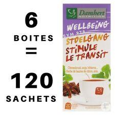 6 Boîtes Tisane Laxative Damhert Perte de Poids Minceur Régime Détox Transit Thé