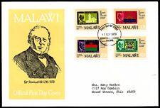 MALAWI, 100th. ANNIV. OF SIR ROWLAND HILL´S DEATH, FDC