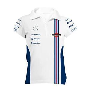 Mercedes-Benz F1 Williams Martini Racing Women's Team Zip Polo Shirt