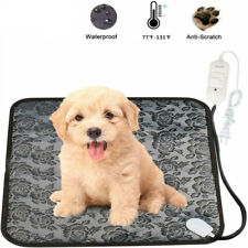 Pet Winter Electric Heating Cozy Warm Blanket Pad Waterproof Dog Cat Heater Mat