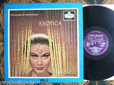 Martin Denny – EXOTICA volume 2-LP RARE UK Sleeve Londra ha-G 2253-UK 1960