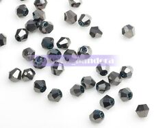 500pcs 3x2mm Wholesale Bicone Faceted Crystal Glass Charms Loose Spacer Beads