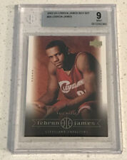 2003 Upper Deck Lebron James Box Set #29 Lebron James BGS 9