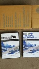 bobcad-cam v26 mill express + training professor DVD
