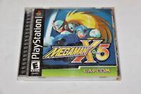Mega Man X5 (Sony PlayStation 1, 2001) Complete. Black Label
