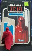 VINTAGE KENNER 1983 ROTJ EMPEROR'S ROYAL GUARD ERG LOOSE FIGURE + 65A BACK CARD