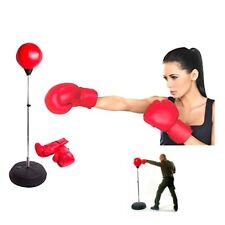 Hongwu Punching Ball Set Bag Gloves Boxing Set with Jump Rope Speed Ball Pump