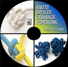 KNOTS SPLICES LASHINGS & ROPEWORK ULTIMATE TRAINING RESOURCE E BOOKS PC CD ROM