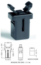 Addis/Brabantia replacement push bin lid catch/latch with FREE mating part
