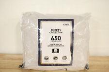 Aq Textiles King Sheet Set Surrey Cotton 650 Thread Count White T97136