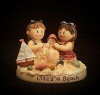 "Zingle-Berry ""Life's a Beach"" Ltd. Ed. Figurine 4.5"" 》"