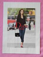 2013 Magazine Advertisement Page For Natalie Portman Dior Clothing Sexy Ad