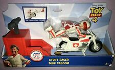 Disney PIXAR Toy Story 4 STUNT RACER DUKE CABOOM LAUNCH & RACE  **NEW**