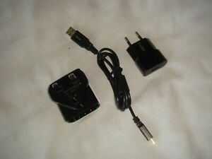 KODAK AC Mains Power Adapter K20-EC WITH KODAK MICRO USB CABLE - EXCELLENT COND