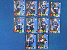 Inter Milan - Panini Super Strikes Trading Cards - Lot of 10 - 2009/10 - CL