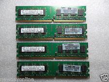 HP Samsung Desktop Memory 4GB (4x 1GB) PC2-5300U DDR2 667MHz DIMM M378T2953EZ3