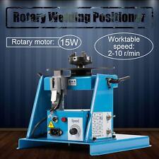 New listing 110V 60Hz 2-10 r/min Rotary Welding Positioner Turntable Table for Pipe Welding