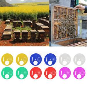 12pcs Beekeepers Bee Hive Nuc Box Entrance Gates Beekeeping Equipment Hot Sale