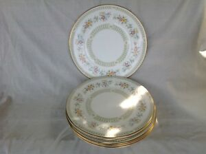 """6 X MINTON BROADLANDS 6.5"""" PLATES EXCELLENT CONDITION FIRST QUALITY"""