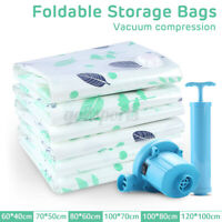 1/8/25 Vacuum Space Saver Bags Storage Seal Compressing Organizer for Clothes