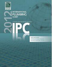 2012 International Plumbing Code (IPC) by ICC PDF CD
