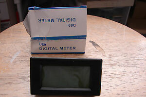 Blue Digital Amp Meter 5 amps No shunt required for CNC