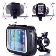 Waterproof Bike/Bicycle Handlebar Mount Holder Case for Garmin Handheld Gps - Xl