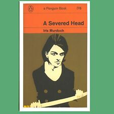 Postcard - A Severed Head - A Penguin Book Cover Postcard