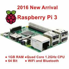 Pro 2016 Raspberry Pi 3 Modelo B LAN inalámbrica 1.2GHz Quad Core 64Bit 1GB Ram Wifi