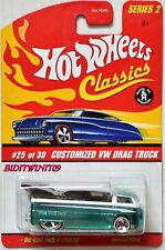 HOT WHEELS CLASSICS SERIES 2 #25/30 CUSTOMIZED VW DRAG TRUCK GREEN