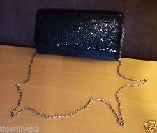 Zwarte handtas met pailletten van Lola & Liza NIEUW