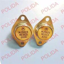 1pairs OR 2PCS  Transistor MOTOROLA TO-3 MJ15024/MJ15025 100% Genuine Original