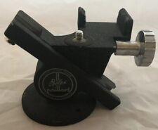 Rare Vintage Bolex Paillard H8 H16 Cine Camera Geared Rack Over Tripod Head