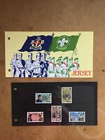 Jersey 1982 The Boys Brigade stamps presentation pack