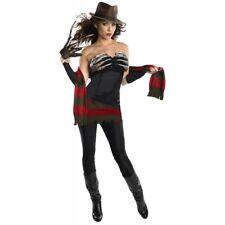 Freddy Krueger Costume Adult Sexy Halloween Fancy Dress
