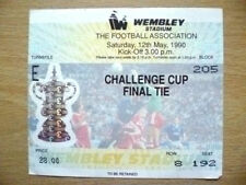 Manchester United F Football FA Cup Fixture Tickets & Stubs