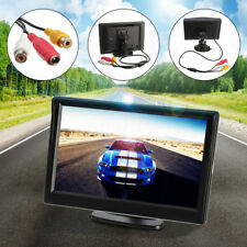 5 inch TFT-LCD Car Rear View Rearview Monitor With Stand Reverse Backup Camera
