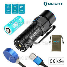 Olight S1R 900 Lumens Wiederaufladbare Taschenlampe Cree CW LED EDC Torch Lampe