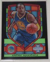 2013/14 Andre Iguodala Warriors Panini Innovation Stained Glass Insert Card #65