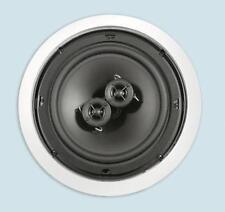 """NEW 6.5"""" Ceiling Single Stereo Speaker.DVC 6-1/2"""" in-wall Flush Mount.9"""" frame"""