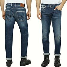 Replay Jeans Hommes Taille W33 grover Straight Stretch en Modal MA972 69C