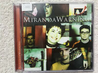 MIRANDA WARNIG CD MIRANDA WARNING MUXXIC