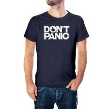 Don't Panic inspired by Hitchhiker's Guide To The Galaxy T-Shirt