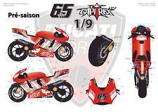 [FFSMC Productions] Decals 1/9 Ducati GP7 2007 (pré-saison)