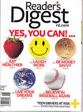 Magazine Reader's Digest August 2008 Yes, You can Laugh More Eat Healthier
