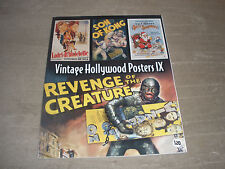 VINTAGE HOLLYWOOD MOVIE POSTER BOOK OVER 300 FULL COLOR POSTER PRINTS RARE VOL 9