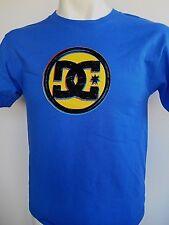 DC Shoes Star Boy's Blue's Logo T-shirt Size Large