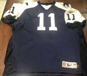 Drew Bledsoe Dallas Cowboys Reebok Classic Thanksgiving Day Jersey Size 58